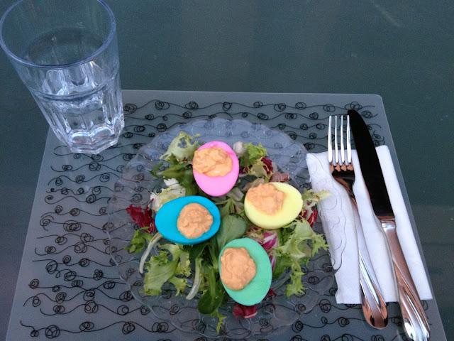 Huevos de Pascua salados