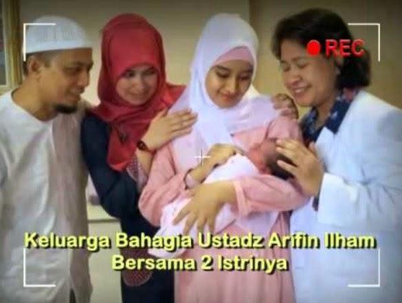 arifin ilham dan dua istrinya