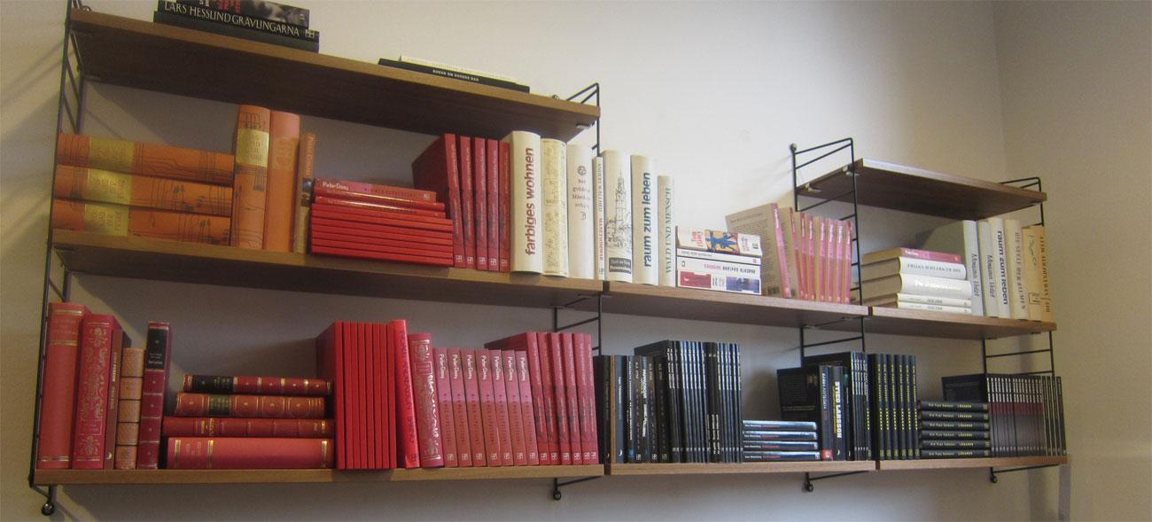 Hanneles bokparadis Inte plats för bokhylla?