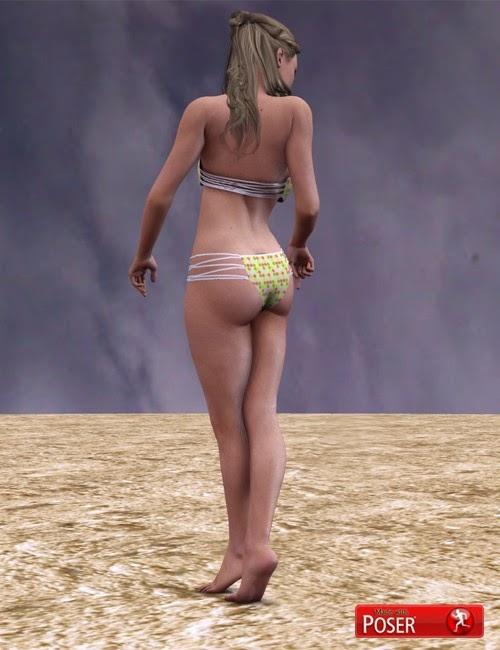 Bikini dynamique pour Poser