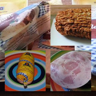 Frische Produkte von der Pute