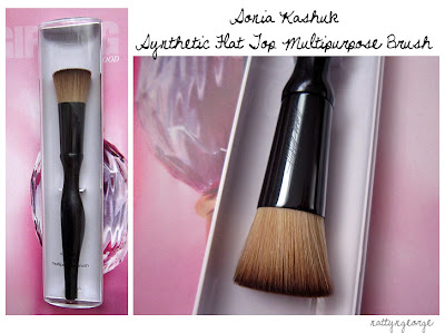 Makeup Brushes on Beauty Diary Blog  The Sonia Kashuk Synthetic Flat Top Multipurpose