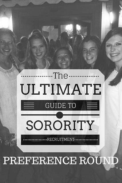 The Ultimate Guide to Sorority Recruitment: Preference Round