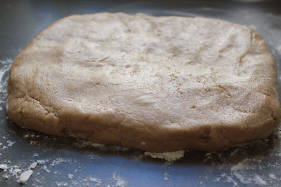 Graham cracker dough
