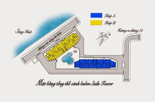 Chung Cư SailsTower Sông Nhuệ Hà Đông