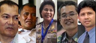 Pimpinan KPK Terpilih 2015-2020