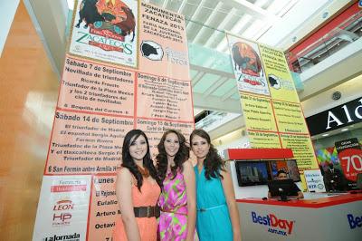 Cartel Taurino toros Feria Zacatecas 2013