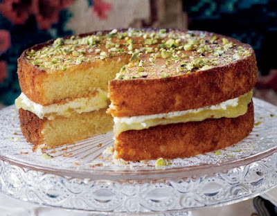 Prosecco, Lemon and Olive Oil Cake