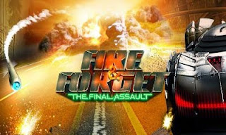 Screenshots of the Fire & Forget The Final Assault for Android tablet, phone.