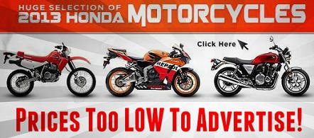 2013 2014 Honda Motorcycles Sale Honda of Chattanooga TN southern TN Honda PowerSports Dealer lowest and best discount wholesale prices