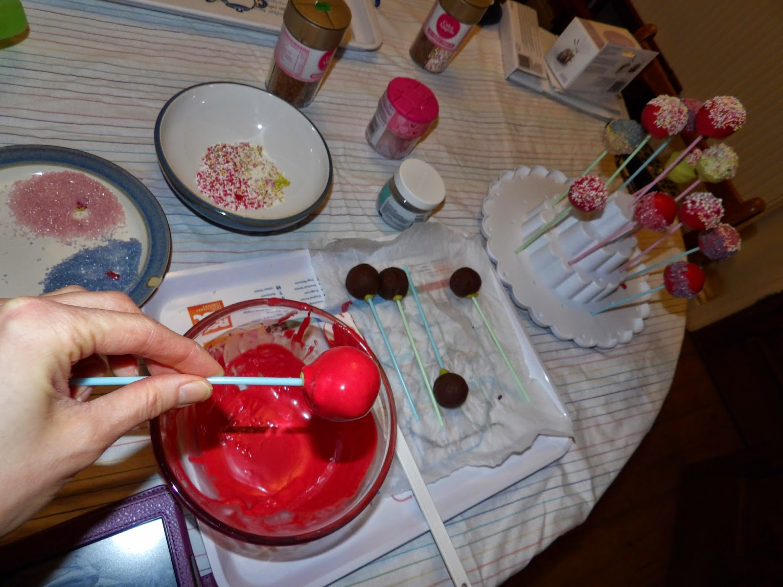 Inverted Cake Pops
