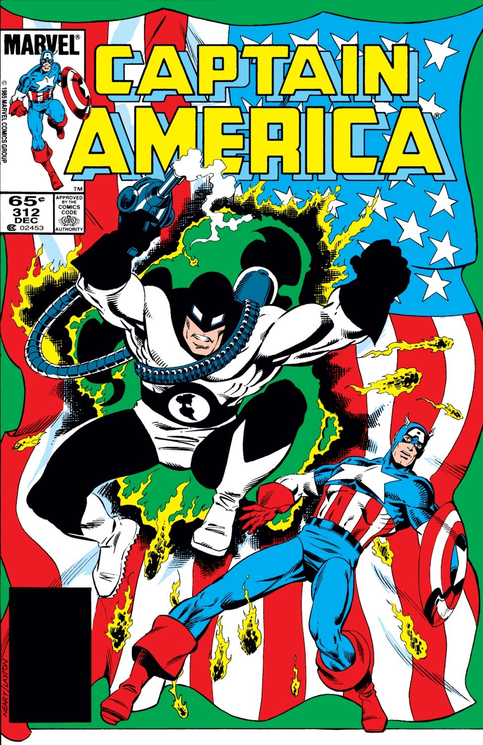 Captain America (1968) Issue #312 #240 - English 1