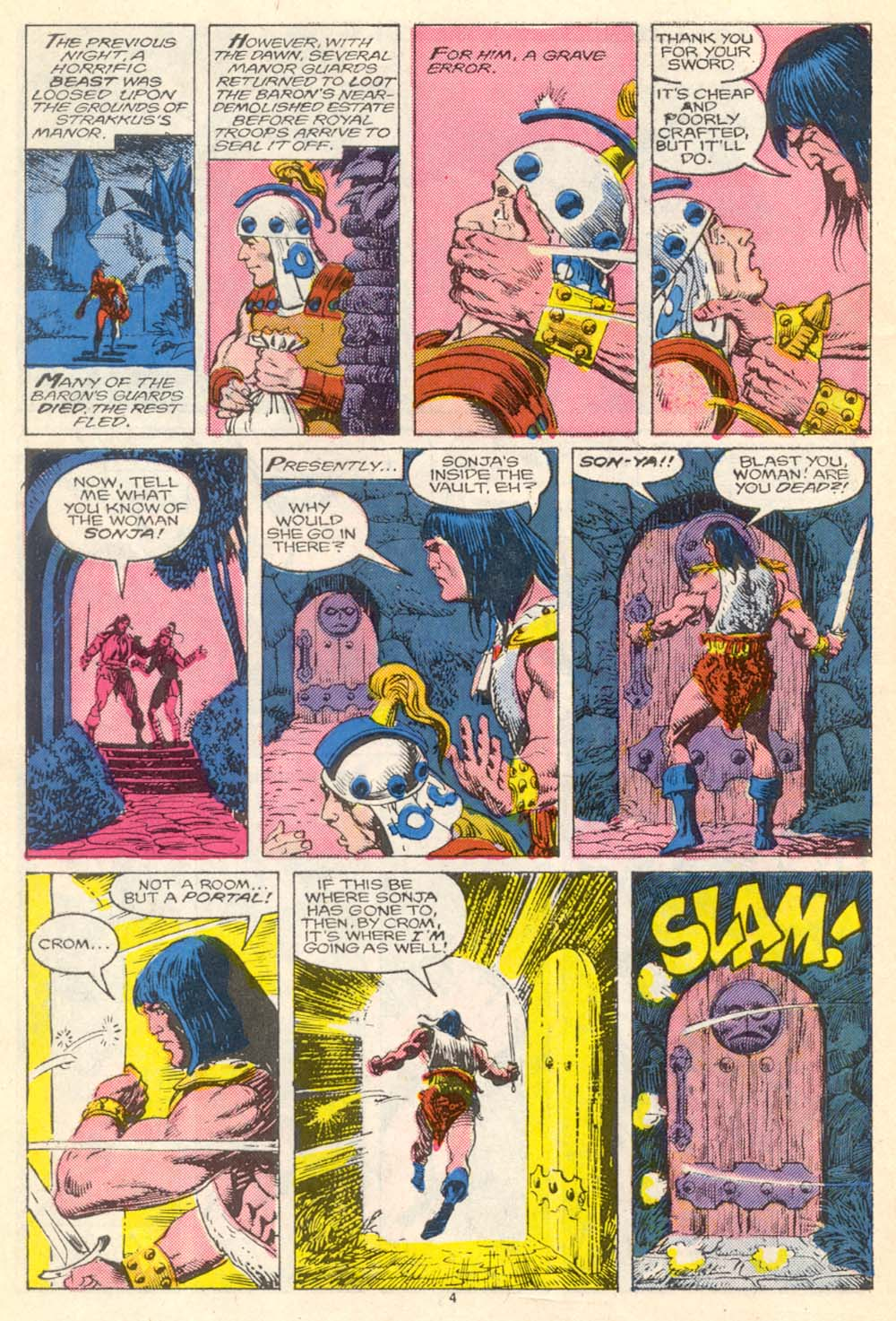 Conan the Barbarian (1970) Issue #205 #217 - English 5