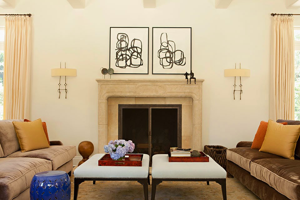 Fiorito interior design catch your balance symmetry vs for Symmetrical interior design