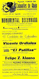 TOROS EN CABOALLES, AÑO 1970