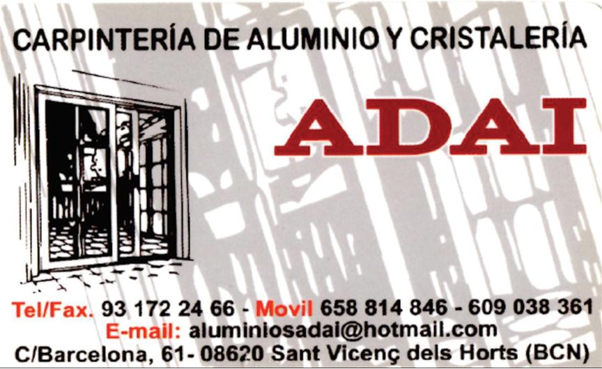 Carpinteria ADAI