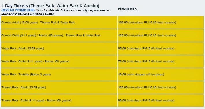 harga tiket masuk legoland malaysia