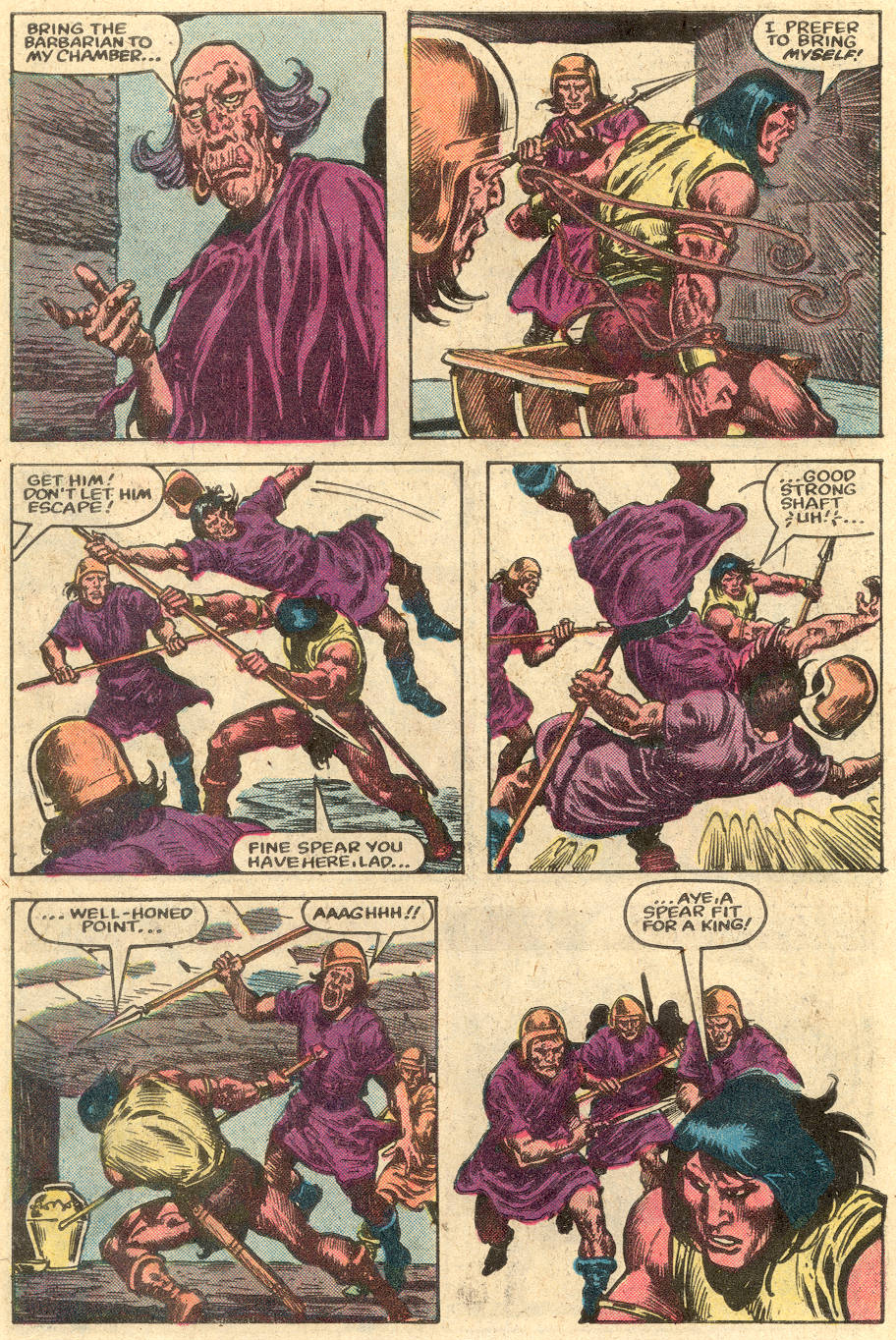 Conan the Barbarian (1970) Issue #148 #160 - English 8