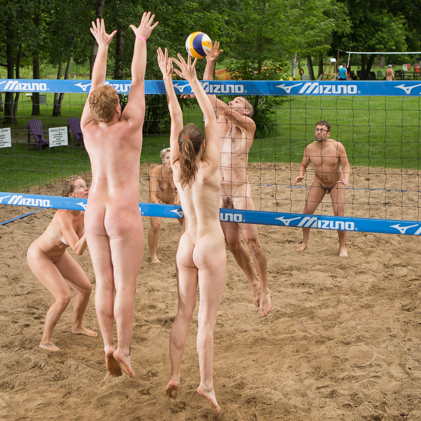 from Remy european nude beach volley ball