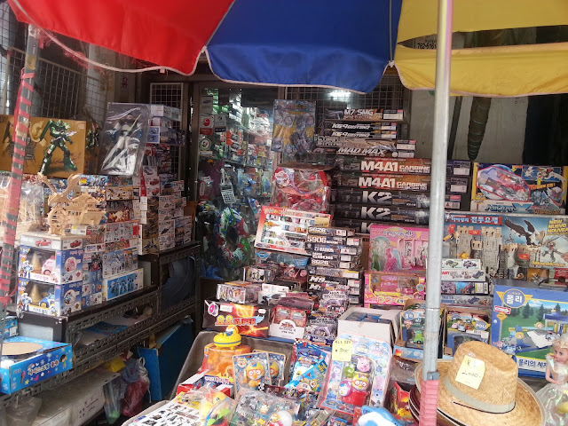 Wholesale shop for games and toys in Dongdaemun, Seoul