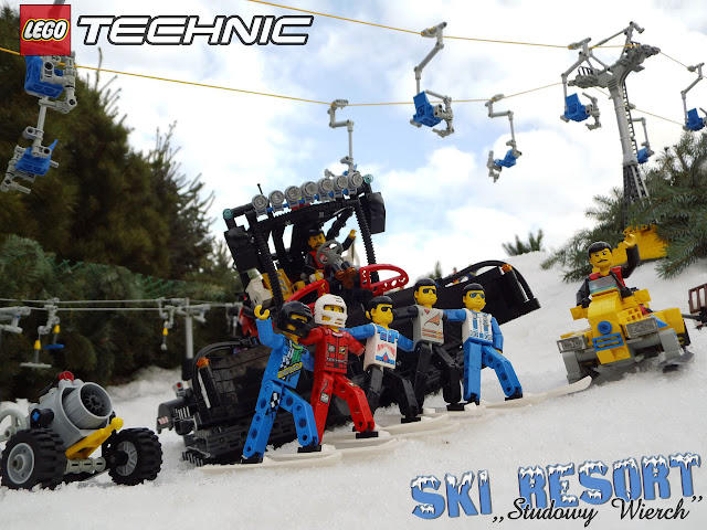 lego technic ski resort