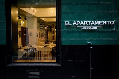 Fachada- Restaurante El Apartamento Madrid