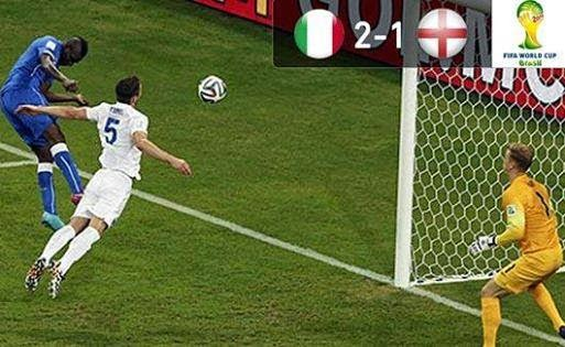 اهداف مبارة إنجلترا و  إيطاليا  1 : 2