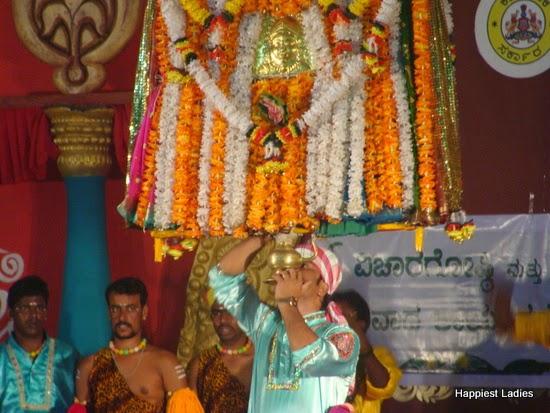 cultural performance ahara mela mysore 2