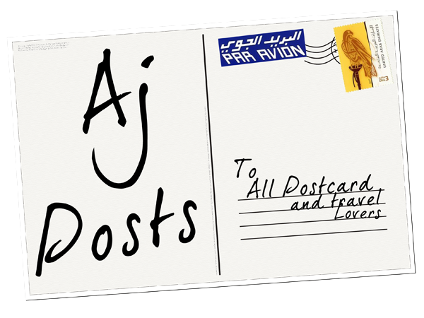 Aj posts: A Postcrossing Blog