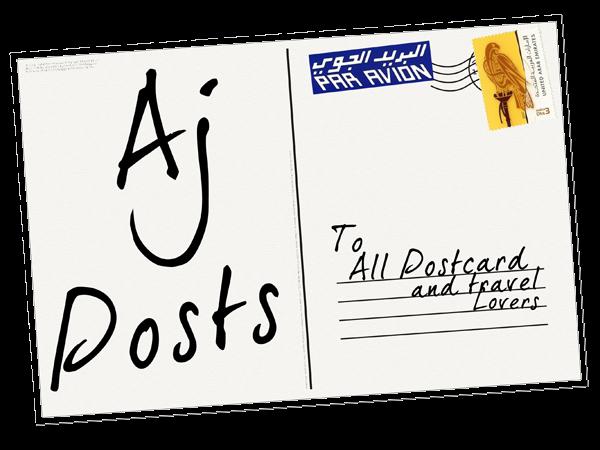 Aj posts: A Postcrossing Blog