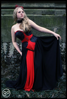 Gothic wedding dresses