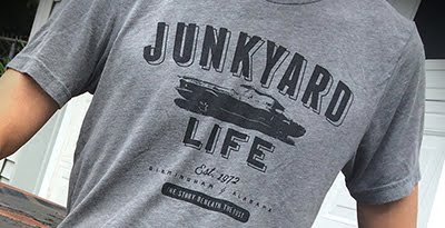 JUNKYARD LIFE T-SHIRT