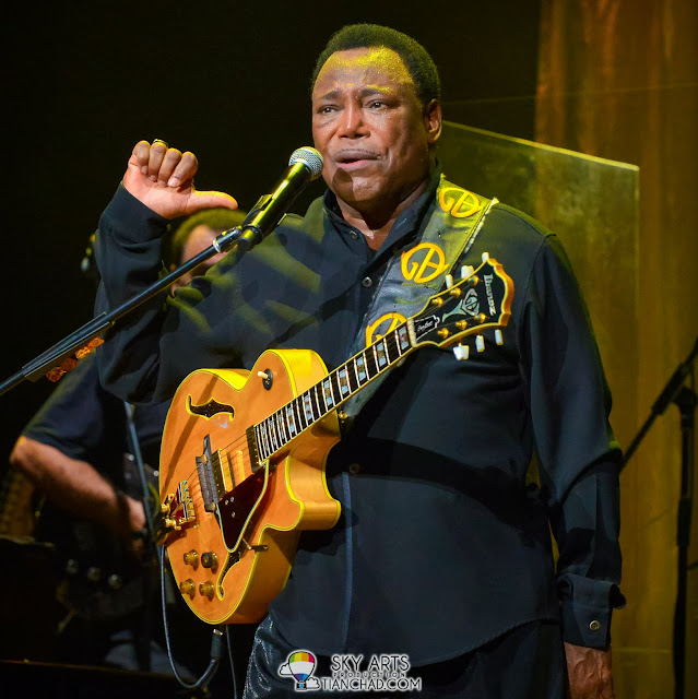 """Thanks for coming to listen to my song"" George Benson Live In KL Inspiration Tour"