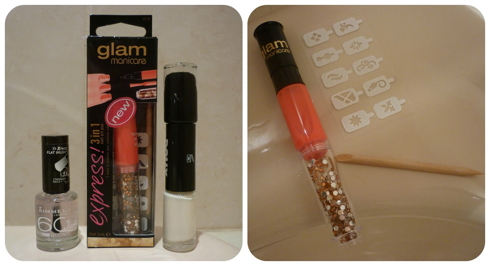 Review: Glam Manicare Express 3 in 1 Nail Art Pen | taken by surprise