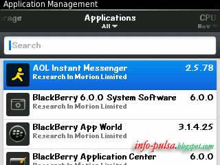 BlackBerry Application Management