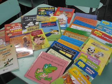 Novos livros para nossa escola