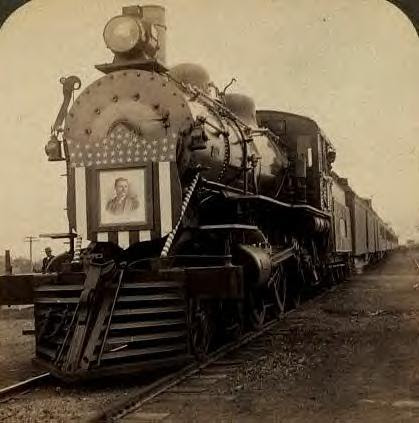 Teddy Roosevelt train, 1903