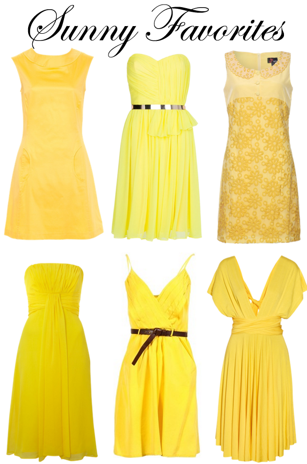 Yellow Dresses under $150