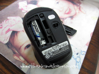 cordless mouse battery
