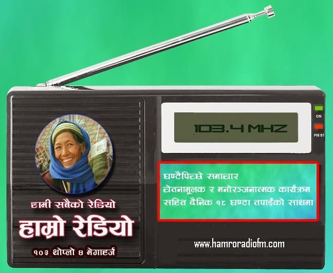 Hamro Radio 103.4 MHz
