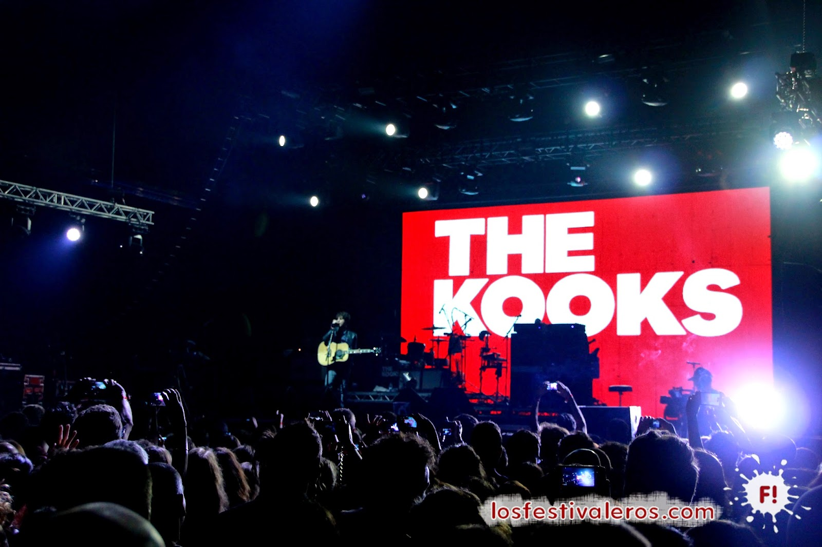 BIME Live, 2014, Festival, Concierto, Bilbao, The Kooks