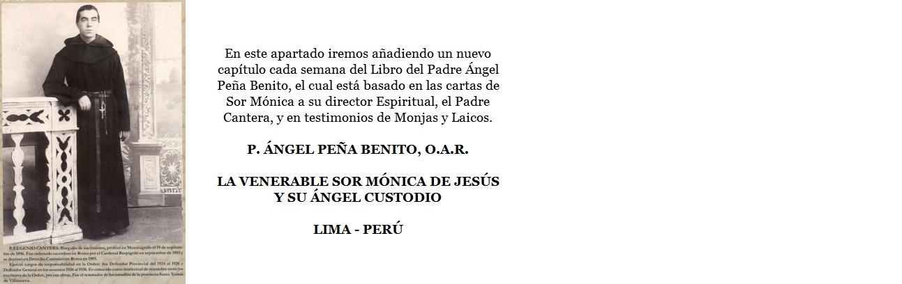 Capítulos del Libro del Padre P. ÁNGEL PEÑA BENITO, O.A.R.