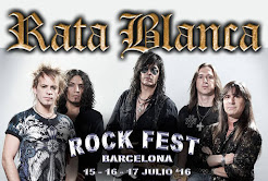"RATA BLANCA EN EL ""ROCK FEST BCN"" (ESPAÑA) - 15, 16, 17 /07/2016"