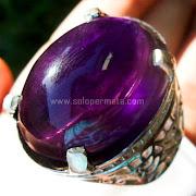 Cincin Batu Permata Amethyst - SP745