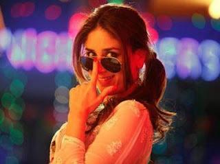 Kareena in Favicol Dabangg 2 Lucknowi Chikan Suit