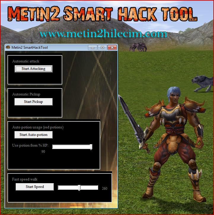 Metin2 Smart Hack Tool v1.2 Hilesi