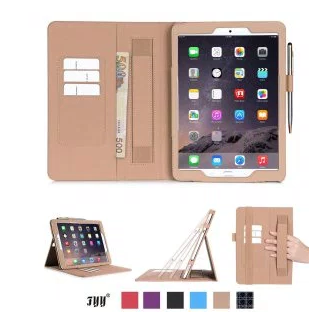 FYY Super Functional Series Apple iPad Mini 4 Premium Leather Case