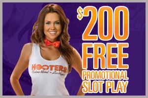 Hooters 200 free slot play