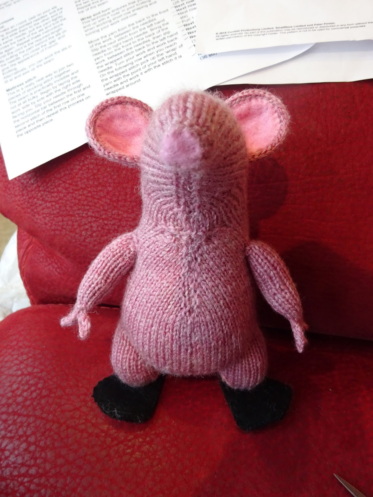 Extreme Knitting Redhead: A Small Clanger for a Small Boy