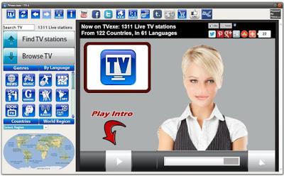 Aplikasi TV di PC